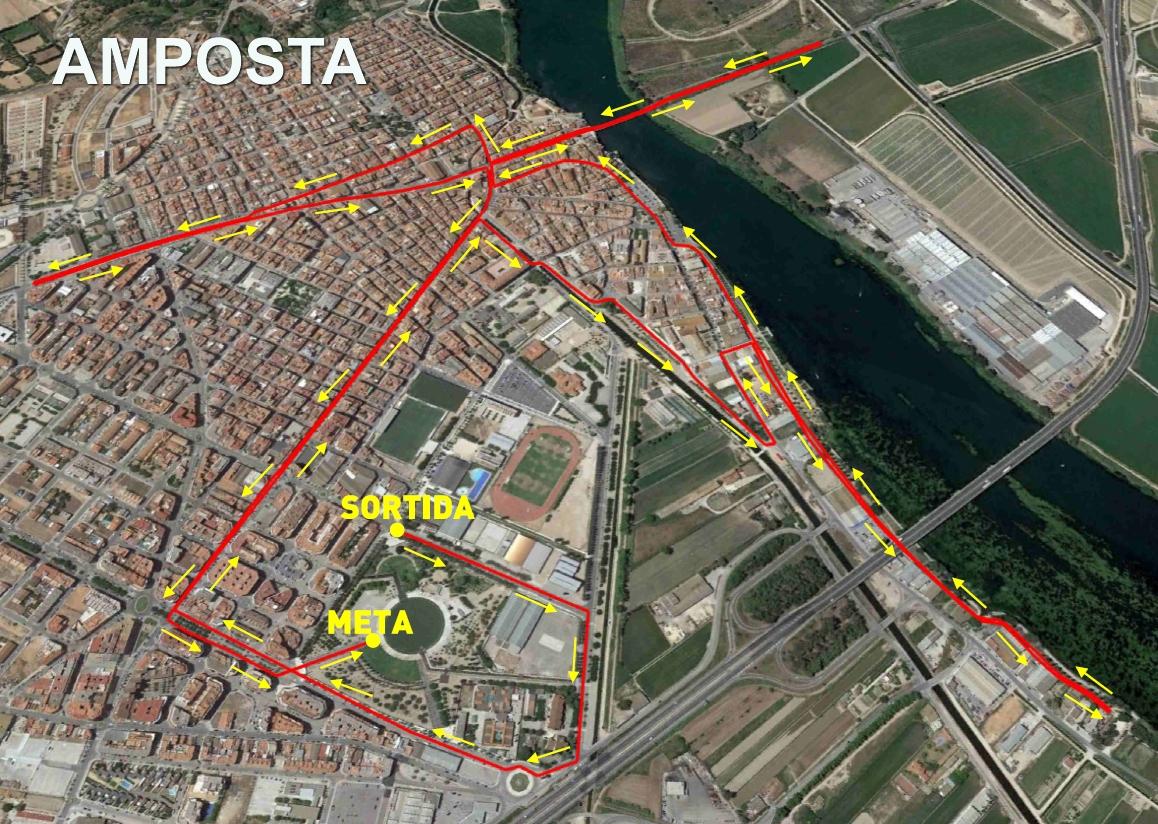 Circuit cursa montbike amposta 10000 i mitja marat for Oficina de treball amposta